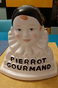 presentoir sucettes PIERROT GOURMAND comme neuf 48 sucettes