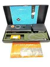 Agfa Optima 5000 pocket sensor Solinar 1:2,7/27 mit Optima pocket Lux boxed
