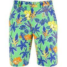 RLX Golf Ralph Lauren Royal Pineapple Floral Lightweight Perform Loud Shorts 33