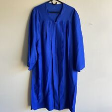 "Jostens Royal Blue Graduation Gown Fits 5'07"" to 5'09"" ~ Bdg Collection"
