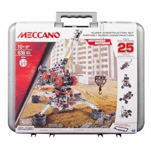 Meccano Erector Super Construction 25 in 1 Building Set