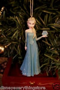 DISNEY FROZEN PRINCESS ELSA CUSTOM CHRISTMAS ORNAMENT SO CUTE NEW