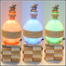 Blanton's Bourbon Whisky Liquor Empty Bottle Lamp Color Changing LED