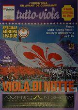 Programma UEFA el 2014/15 FIORENTINA-Guingamp