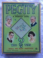 Vintage Peggity Game