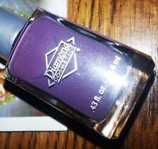 New! Diamond Cosmetics Nail Polish Lacquer in Drift Away #245 Dusty Purple Grape