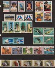 1990 US  COMMEMORATIVE YEAR SET 37 STAMPS MINT NH
