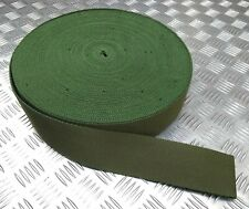 Genuine British Military Issue Mid Green Stable Belt Material 64mm - NEW
