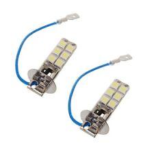 2x H3 12-LED Bright White Fog Lights DRL Driving Light Bulbs Car/Truck/Van/SUVs