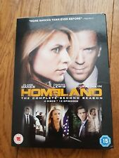Homeland - Series 2 - Complete 4 x DVD boxset Claire Danes and Damian Lewis