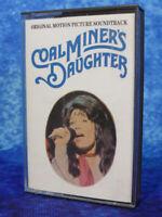 COAL MINER'S DAUGHTER Motion Picture Soundtrack RARE AUDIO CASSETTE TAPE ALBUM