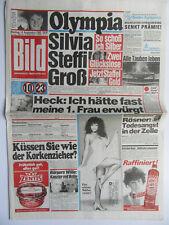 Bild Zeitung 19.9.1988, Maria Whittaker, Greta Garbo, Silvia Sperber, Steffi Gra