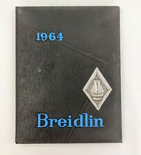 1964 James M Coughlin High School Year Book Wilkes-Barre PA Breidlin