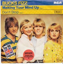 45 T SP BUCKS FIZZ *MAKING YOUR MIND UP* (EUROVISION ENGLAND 1981)