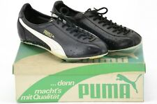 Puma Olympia Sprint 695 1976 Leather Cycling Shoes 6.5UK 8.5US 255mm Sole - NOS