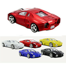 USB Car Mouse LED light SPORTS CAR Wireless Optical Game Mice FOR PC Laptop Red