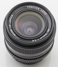 Yashica Lens ML 28mm 28 mm 1:2.8 2.8 - Contax Yashica