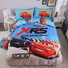 Cars McQueen Cruz 100% Cotton Bedding Set Quilt Cover Sheet Pillowcase Single