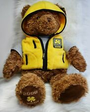 """VINTAGE GUND 2000 - 2001 26"""" Limited Edition Wish Bear """"LUCK"""", With Tags EUC"""