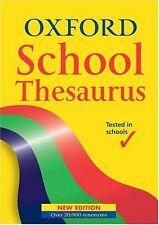 OXFORD SCHOOL THESAURUS,Hachette Children's Books- 9780199111251