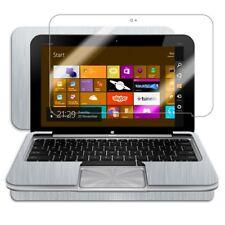Skinomi Brushed Aluminum Tablet Skin+Screen Protector for HP Envy x2 w/ Keyboard