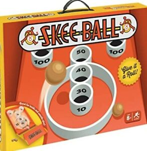 BUFFALO GAMES – SKEE-BALL FOR INSIDE OR OUTSIDE PLAY AGES 8+