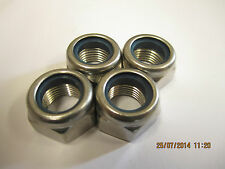 M14x1.5mm Thread (Pitch) Size Nyloc A2 Stainless Steel  Nuts 4 Pack