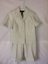 Ms.Tracy By Tracy Evans Women's Blazer/Shorts Two Piece Suit Lined Size 8