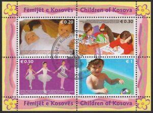Kosovo, 2006, Children, souvenir sheet