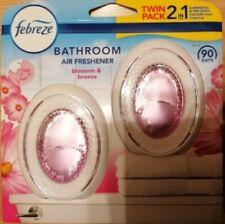 Twin Pack Febreze Bathroom 2 In 1 Air Freshener Blossom & Breeze Mrs Hinch