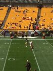 Pittsburgh Steelers  Vs Cinn Bengals On Sept 26th <br/> 2 Lower level sideline (Visitor) Steelers tickets