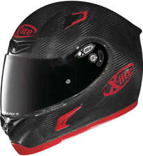 X-LITE X802RR PURO SPORT RED CARBON 008 M'CYCLE HELMET - MED + VISOR *SAVE £140*