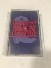 Working Man Country,  1998 Country Music Cassette