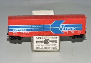 N Scale Kadee Special Run NSC 76-01 NTrak Express NTX 1776-1976 50' Box Car NIB