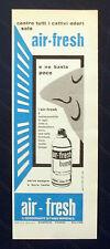 B759-Advertising Pubblicità-1959-AIR FRESH DEODORANTE
