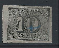 BRAZIL #21  IMPERF. USED - 1850