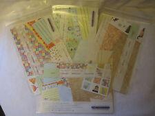 Creative Memories Scrapbook Birthday Celebrate Kits Paper Journal Box Stickers