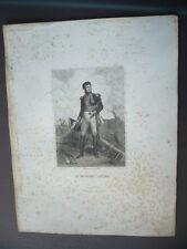 GRAVURE 1880 LE MARECHAL LANNES