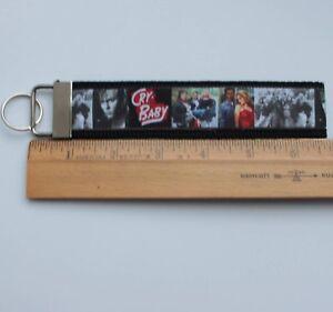 Cry-Baby Key Fob Grosgrain Ribbon Webbing Keychain Wristlet 6 inch