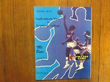 1972 South Dakota State Men's Basketball Guide(16 Signed/JIM MARKING/LEE COLBURN