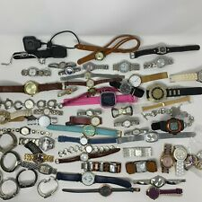 Lot of Watches Mens Womens Over 7 lbs Over 50 Pieces