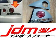 For Lexus IS300 Toyota Altezza 1998-2005 Tail Light Cover Rear Eyebrows Set