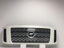 Nissan Titan XD White Grille W/Whole For Camera  62310EZA1A  2016-2017-2018