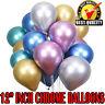 "12"" Metallic Pearl Chrome Latex Balloons for Wedding Birthday Party 10-30PCS UK"