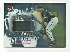 Frank Thomas 2002 Topps Pristine Game-Worn Jersey Patch Card 0837/1000