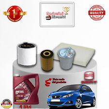 Mantenimiento Filtros + Aceite Seat Ibiza V 1.2 Tdi 55 Kw 75CV de 2010- >