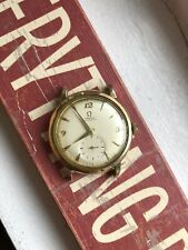 Vintage Omega 14k Gold Filled Automatic Bumper 50s Watch