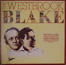 MIKE WESTBROOK: The Westbrook Blake Bright as Fire-M1987LP UK IMP w/TEXT INSERT