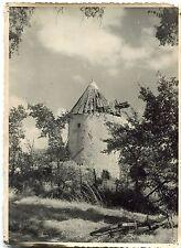 photo ancienne , Moulin à vent des environs de Rochefort