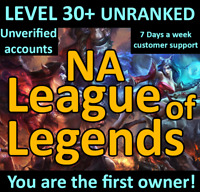 League Of Legends Account LOL PBE Smurf  BE IP Unranked Level 30